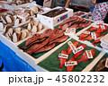 北海道、魚市場 45802232