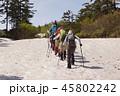 北海道、雪山登山 45802242