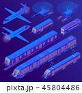 立体 3D 3Dのイラスト 45804486