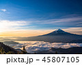 富士山 富士 雲海の写真 45807105