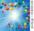 風船 気球 バルーンのイラスト 45808146