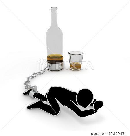 お酒 / アルコール依存症 / 人物 45809434