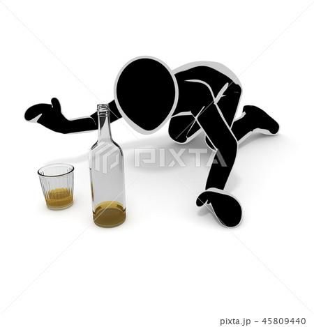 お酒 / アルコール依存症 / 人物 45809440
