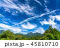 空 晴れ 八ヶ岳の写真 45810710