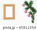 クリスマス フレーム 飾りの写真 45811554
