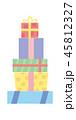 ギフト ギフトボックス プレゼントのイラスト 45812327