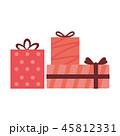 ギフト ギフトボックス プレゼントのイラスト 45812331