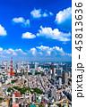 東京 都会 晴れの写真 45813636