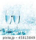 シャンパン シャンペン ガラス製の写真 45813849