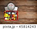 食 料理 食べ物のイラスト 45814243