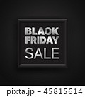 ブラックフライデー discount 値引きのイラスト 45815614