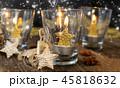 ろうそく ロウソク クリスマスの写真 45818632