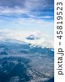 上空 富士山 富士宮市の写真 45819523