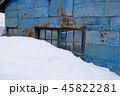 冬の炭坑住宅 45822281