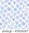 シームレス パターン 柄のイラスト 45826267
