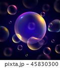 背景 泡 バブルのイラスト 45830300