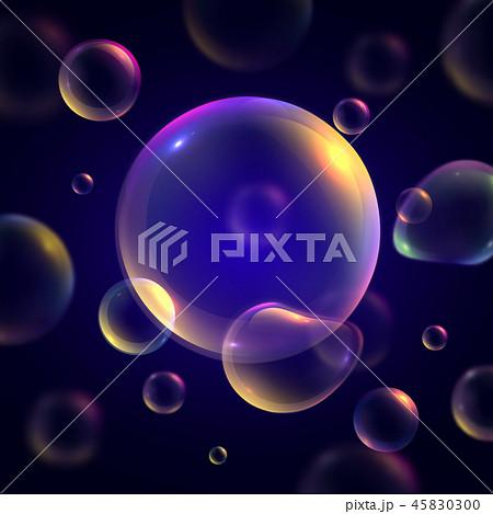Soap Bubbles Background 45830300