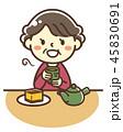 おばあちゃん お茶 45830691