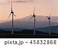 風車 風力発電 自然エネルギーの写真 45832868