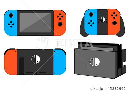 ゲーム機 最新 日本製 2019のイラスト素材 [45832942] - PIXTA