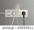 電気的 コンセント 力のイラスト 45835811