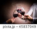 赤ワインで乾杯 45837049