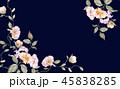 花 フラワー お花のイラスト 45838285