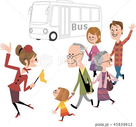 家族でバスツアー 45839612