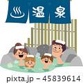 家族で温泉 45839614