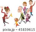 家族で観光ツアー 45839615