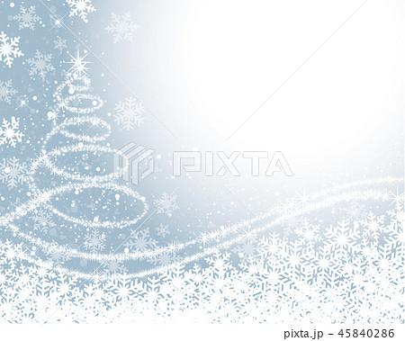 ホワイトクリスマス 背景のイラスト素材 [45840286] - PIXTA