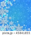 クリスマス 青 新しい年のイラスト 45841855