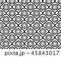 パターン 柄 模様のイラスト 45843017