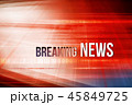 Graphical red theme breaking news background 45849725