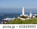 韓国 海 灯台の写真 45849995