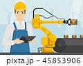 コンベア エンジニアリング 工学のイラスト 45853906