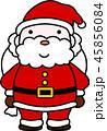 サンタ サンタクロース クリスマスのイラスト 45856084
