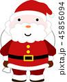 サンタ サンタクロース クリスマスのイラスト 45856094
