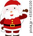 サンタ サンタクロース クリスマスのイラスト 45856100