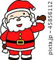サンタ サンタクロース クリスマスのイラスト 45856112