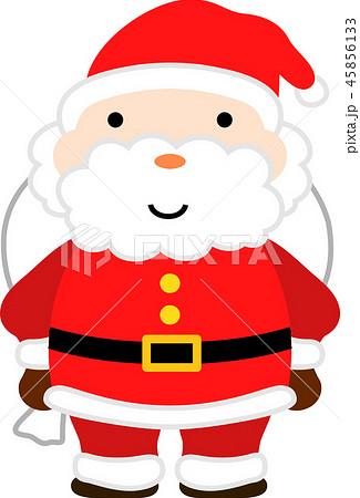 サンタクロース かわいい クリスマス 12月のイラスト素材