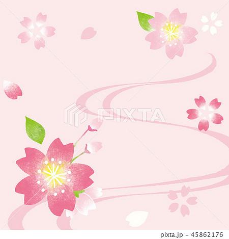 桜 背景イラスト 45862176