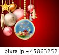 クリスマス 装飾 デコレーションのイラスト 45863252
