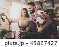 花 花束 花屋の写真 45867427