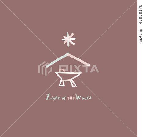 Christmas time - manger 45868179
