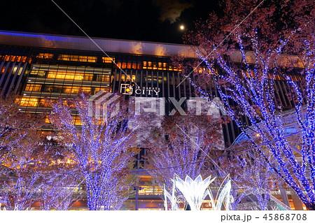 JR博多シティ(博多駅)冬のイルミネーション JR九州博多駅駅舎_福岡県福岡市博多区博多駅中央街JR 45868708
