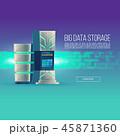 データ 中心部 センターのイラスト 45871360