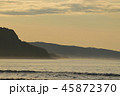 【北海道】夕暮れの銭函(海) 45872370