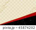 和柄 背景 バックグラウンドのイラスト 45874202