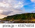 岩場 鵜ノ崎海岸 風景の写真 45874858